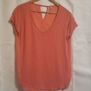 Calvin klein v neck dressy t-shirt
